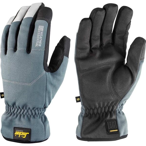 Snickers WETTER Basic Handschuhe PAAR schwarz/steingrau