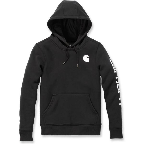 carhartt Clarksburg Sleeve Logo Hooded Sweatshirt Damen