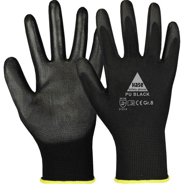 PU BLACK Montagehandschuh aus Polyester/PU