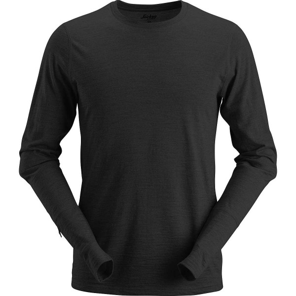 Snickers AllroundWork Wool langarm Woll-T-Shirt