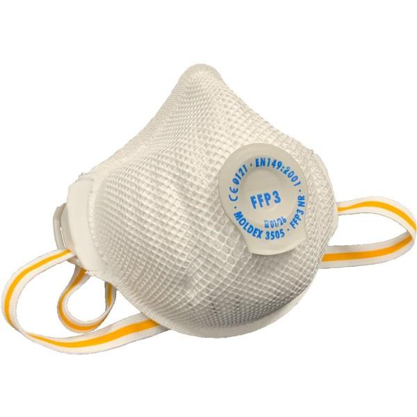 Moldex FFP3 NR 3505 Atemschutzmaske mit Klimaventil