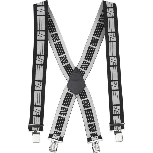 Snickers Elastische Hosenträger schwarz/grau