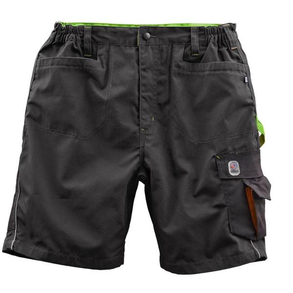 Terrax Shorts schwarz/limette