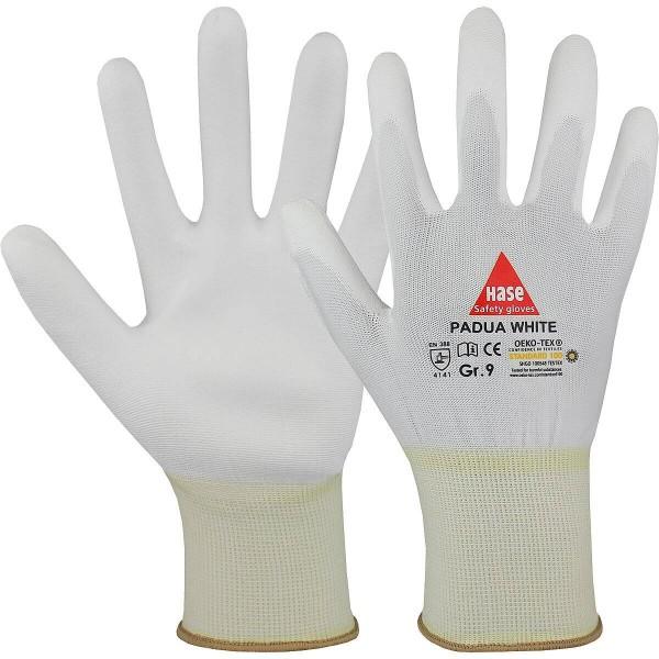 PADUA WHITE Montagehandschuh aus Nylon/PU