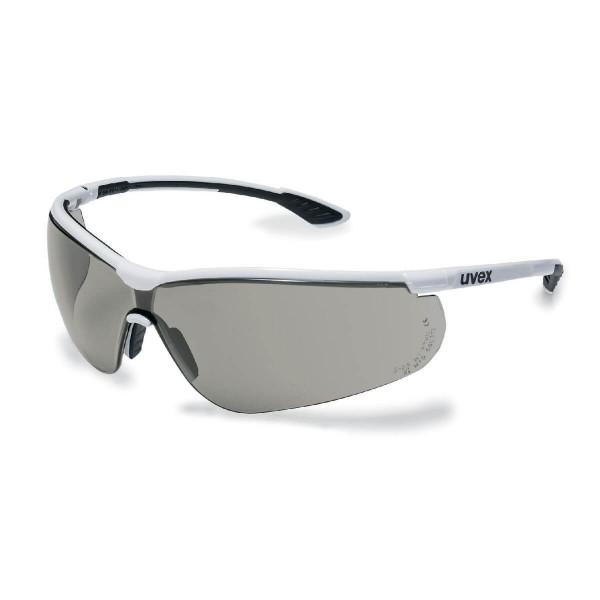 uvex Sportstyle Weiß-Schwarz Bügelschutzbrille