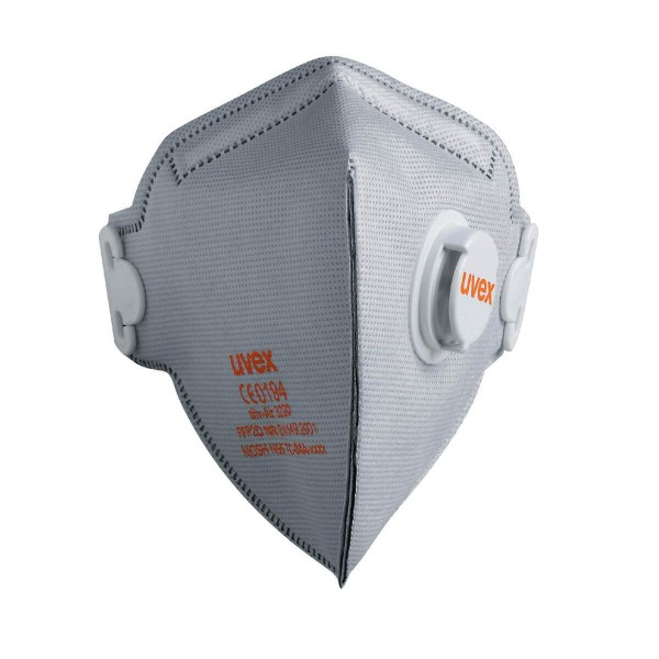 uvex silv-Air classic 3220 FFP2 carbon NR D Atemschutzmaske