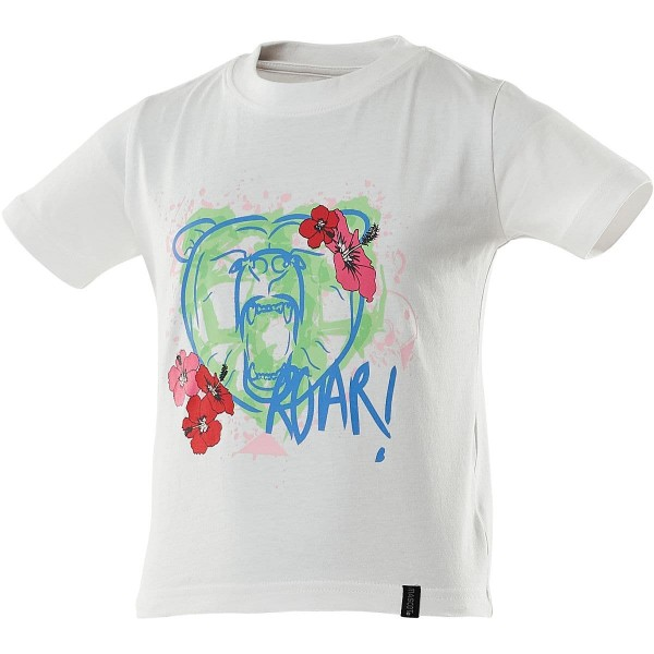 Mascot Accelerate Junior T-Shirt bear with flowers