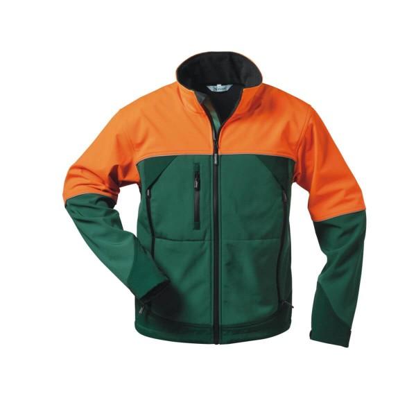 elysee Sanddorn Softshell Jacken grün/orange