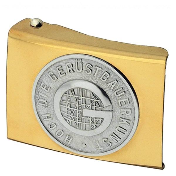 FHB FREDDY Koppelschloss Gerüstbauer, gold