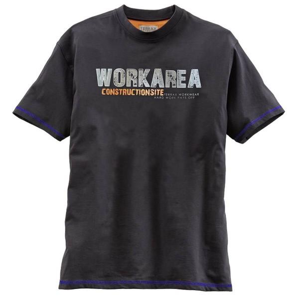 Terrax Kinder T-Shirt schwarz/marine