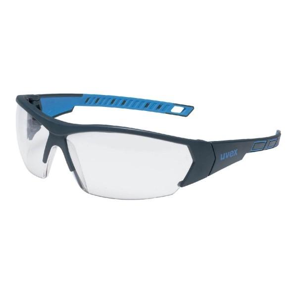 uvex I-Works Anthrazit-Blau Bügelschutzbrille