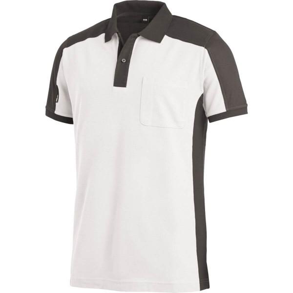 FHB Konrad Polo-Shirt zweifarbig