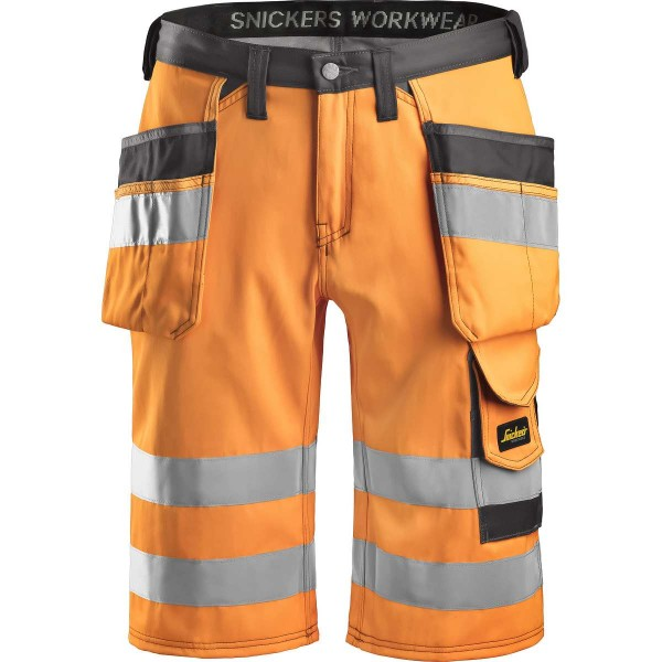 Snickers Hi-Vis Arbeitsshorts HP