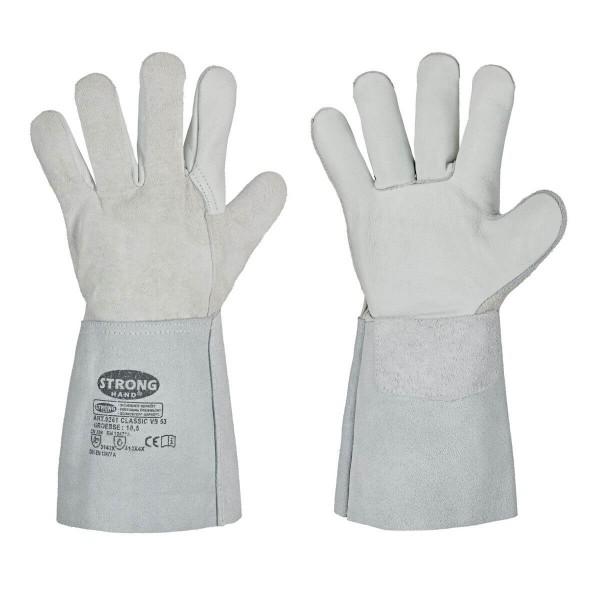 Leder-Schweißerhandschuhe VS 53 Größe 10,5