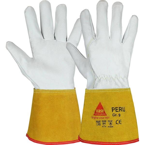 PERU Schweißerhandschuh aus Ziegennappaleder